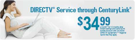 Centurylink directv through centurylink switch from cable